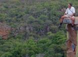 Wanderung im riesigen Resort am Canyon