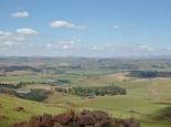 Blick aufs Farmland