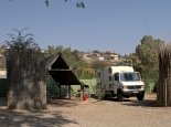 Camp in Windhoek