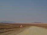 Am Rande der Namib-Wüste