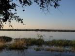 viel Wasser im Chobe River
