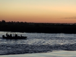 Abendstimmung am Chobe River
