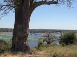 Grenze Botswana - Namibia