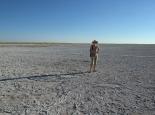kleine Salzpfanne beim Camp