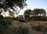 Bushcamp vor Central Kalahari NP