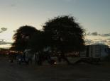 Abendstimmung am Kori 1 Camp