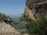 Abstieg über Ketten und Leitern