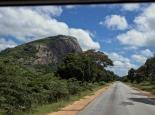 auf dem Weg nach Great Zimbabwe