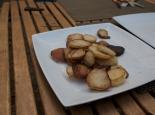 ... mit Bratkartoffeln ...