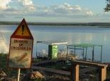 das andere Ende des Sees ist erreicht