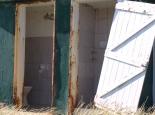 Sanitäranlagen am Wasserloch