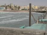 Blick vom Pier