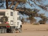 Giraffen am Camp Ganab
