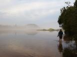 Hochwasser in der Lagune
